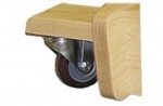 Living Earth Crafts Locking Rolling Casters