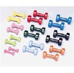 Cando Vinyl Coated Cast Iron Dumbbells