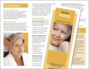 Healthy Aging Brochure - New Style