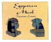 Kamini Egyptian Musk Incense Cones