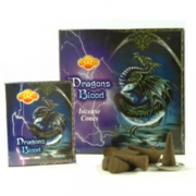 SAC Dragons Blood Incense Cones
