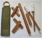 Warm Therapy Table or Chair Stick Set 100% Bamboo