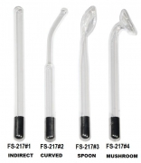 Replacement Part...High Frequency Facial Machine Glass Set (4 pieces)