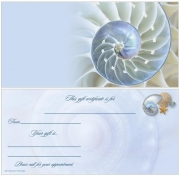 Nautilus Non-Folded Gift Certificate