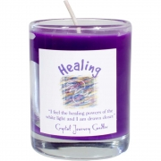 Soy Herbal Filled Votive Healing
