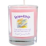 Soy Herbal Filled Votive Friendship