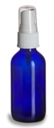 Cobalt Blue Bottle & Spray Cap 20-410
