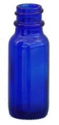 Cobalt Blue Round Bottle Only 18-400
