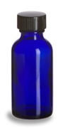 Cobalt Blue Bottle with Cap 20-400
