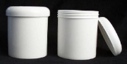 89mm Jar and Twist Lid White - case / 12