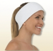 Canyon Rose Terry Spa Velcro Close Headband