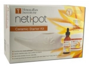 Himalayan Ceramic Neti Pot Starter Kit