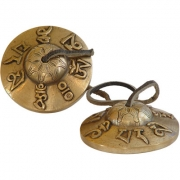 Tibetan Tingsha Bells - Mantra 2 in.