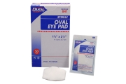 Amber Products Dukal Oval Eye Pads - Pack of 50