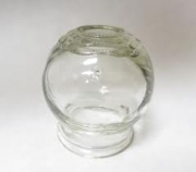 Fire Cup Glass Jar for Cupping Medium