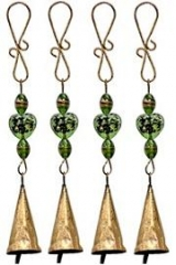 String Bell with Glass Beads