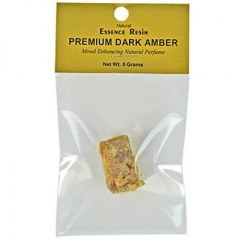 Premium Dark Amber Essence Resin 5 Gram Pack