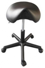 Saddle Stool, Pneumatic, Adjustable