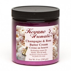 Keyano Champagne & Rose Butter Cream
