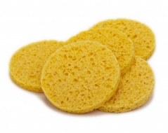 Intrinsics Natural Non-Compressed Cellulose Sponges