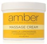 Amber Products Vanilla Lemongrass Massage Cream