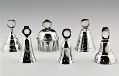 6pc. Assorted Bells in Chrome-3