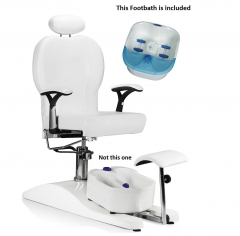 Pedicure Chair with FREE Deluxe Foot Spa