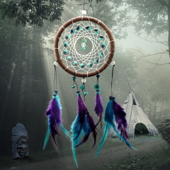 Enchanted Forest Handmade Dream Catcher