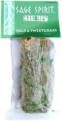 Desert Sage & Sweetgrass Smudge, 5 inch packaged