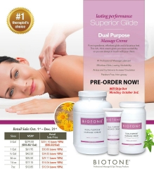 Sale Price - Biotone Dual Purpose Massage Creme