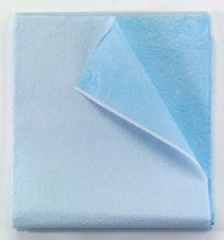 Tidi Drape Sheet with Polybacking Blue 40 x 72