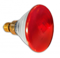 Infrared Skin Care Lamp Infrared Heat Lamp Replacement Bulb - Red -