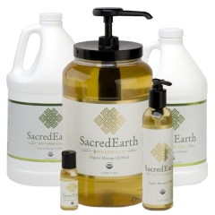 Sacred Earth Organic Massage Oil Blend