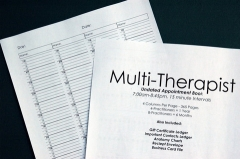 Multi-Therapist Appointment Book Refill