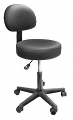 Solutions Swivel Stool with Removeable Back Support