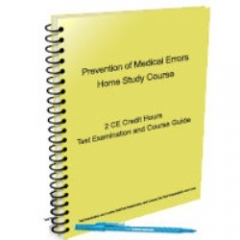 Prevention of Medical Errors - 2 CE Hours