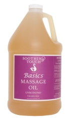 Soothing Touch Basics Unscented Massage Oil