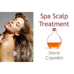 Spa Scalp Treatment w/Steve Capellini - 3 CE hrs