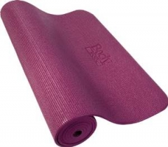 Body Sport Yoga/Fitness Mat, Purple 1/4 inch