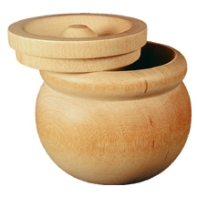 Wooden Mixing Bowl