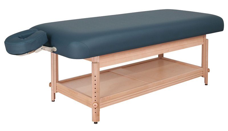 Clinician Adjule Flat Top Stationary Tables Oakworks Equinox Portable Mage
