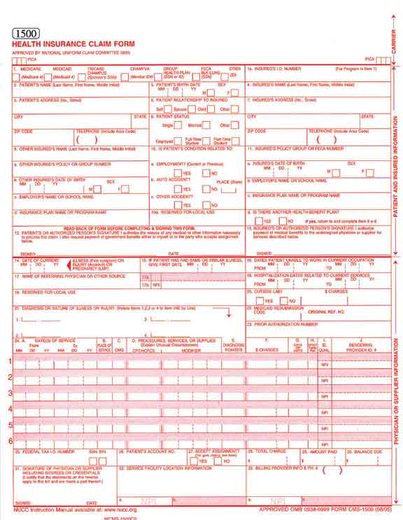 Download hcfa 1500 form - Here Are Files Of Mine