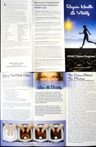 Detox Foot Spa Marketing Brochures 50ct Brochures