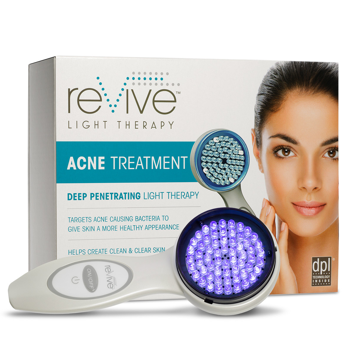 Excellent les led light acne