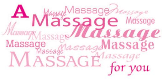 Pink Massage For You Non-Folded Gift Certificate - Anytime Year Around