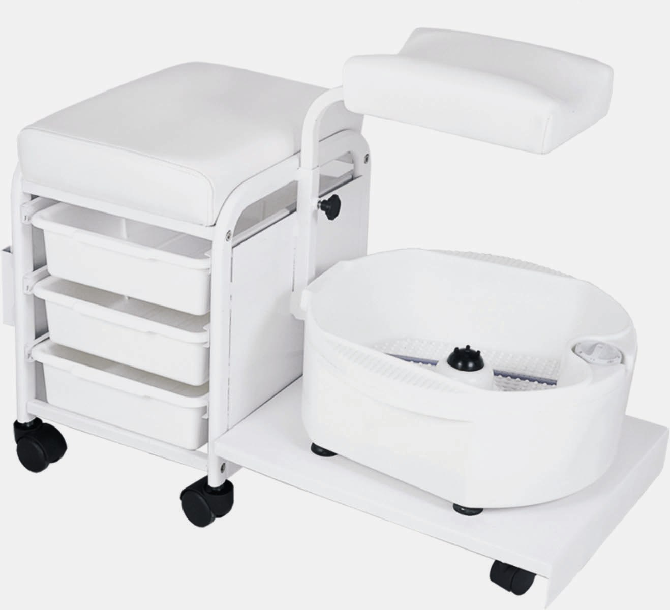 Technician Pedicure Unit With Tray H 2305 Foot Baths