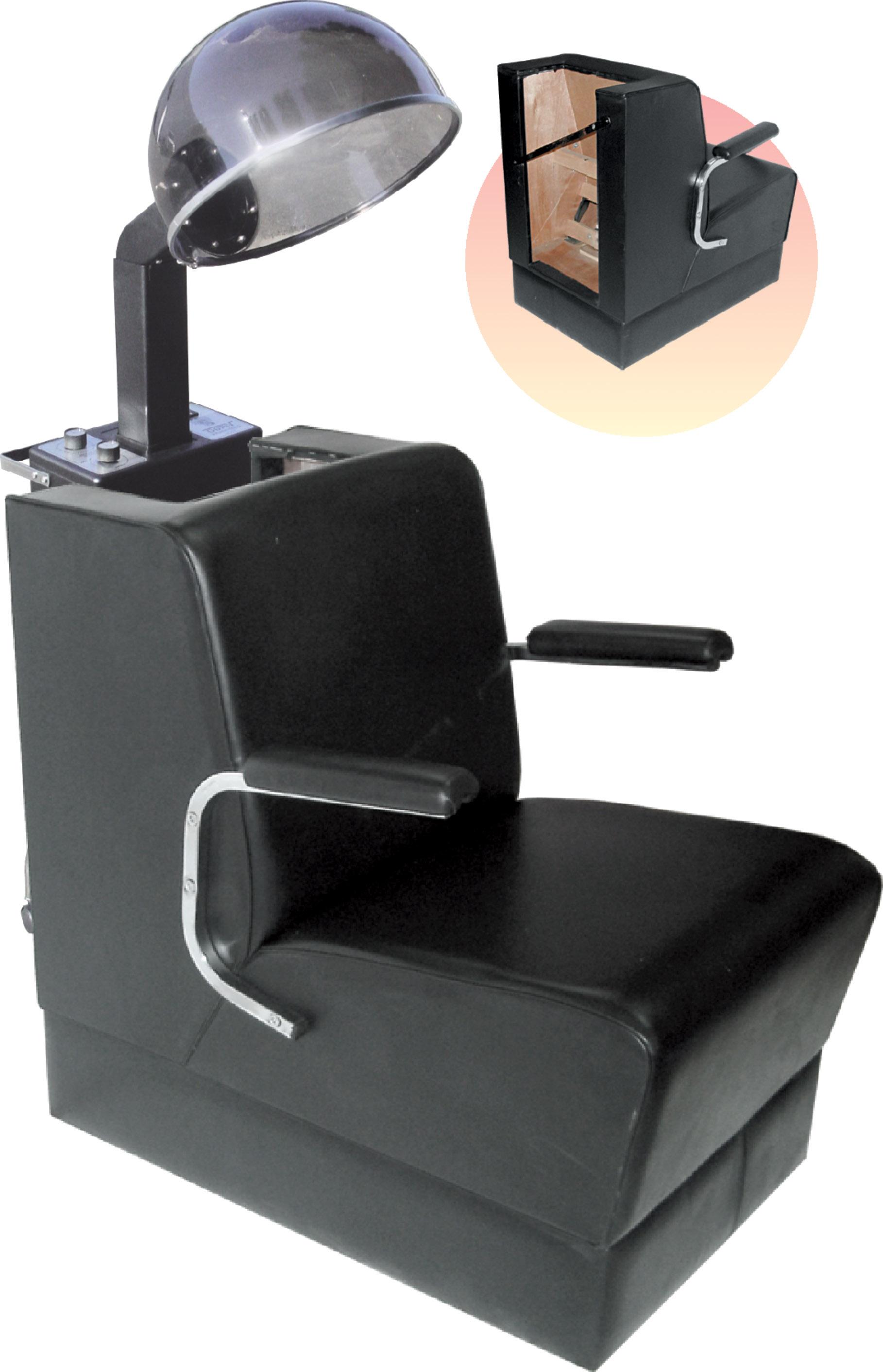 Wall Chair for Hair Dryer H 431 Black Hair Dryers
