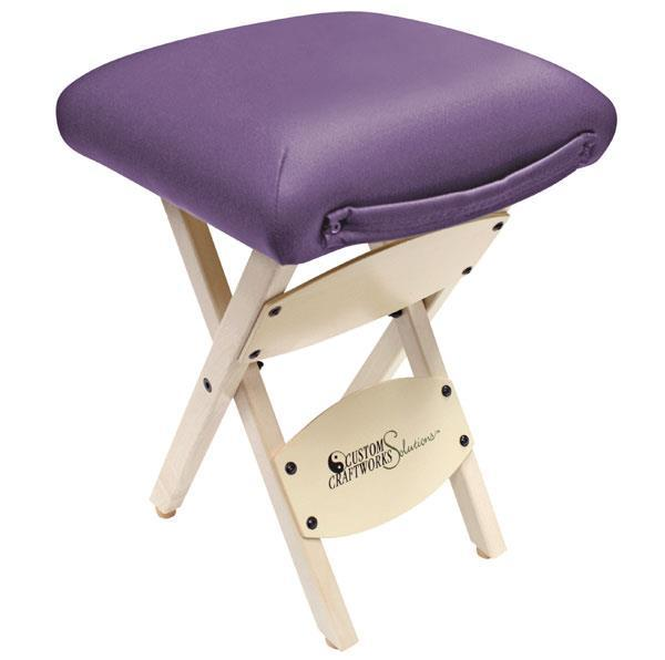 Custom Craftworks Solutions Wooden Folding Stool  sc 1 st  Sunset Park Massage Supplies : portable folding stool - islam-shia.org