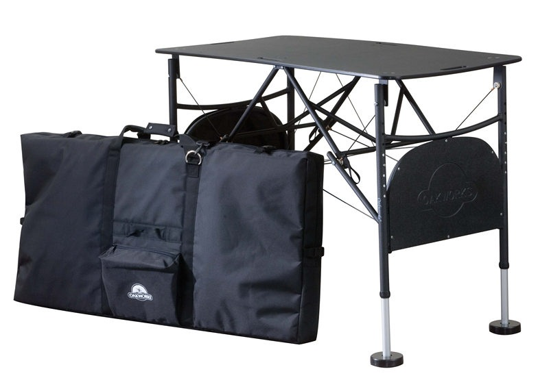 oakworks portable taping table game package