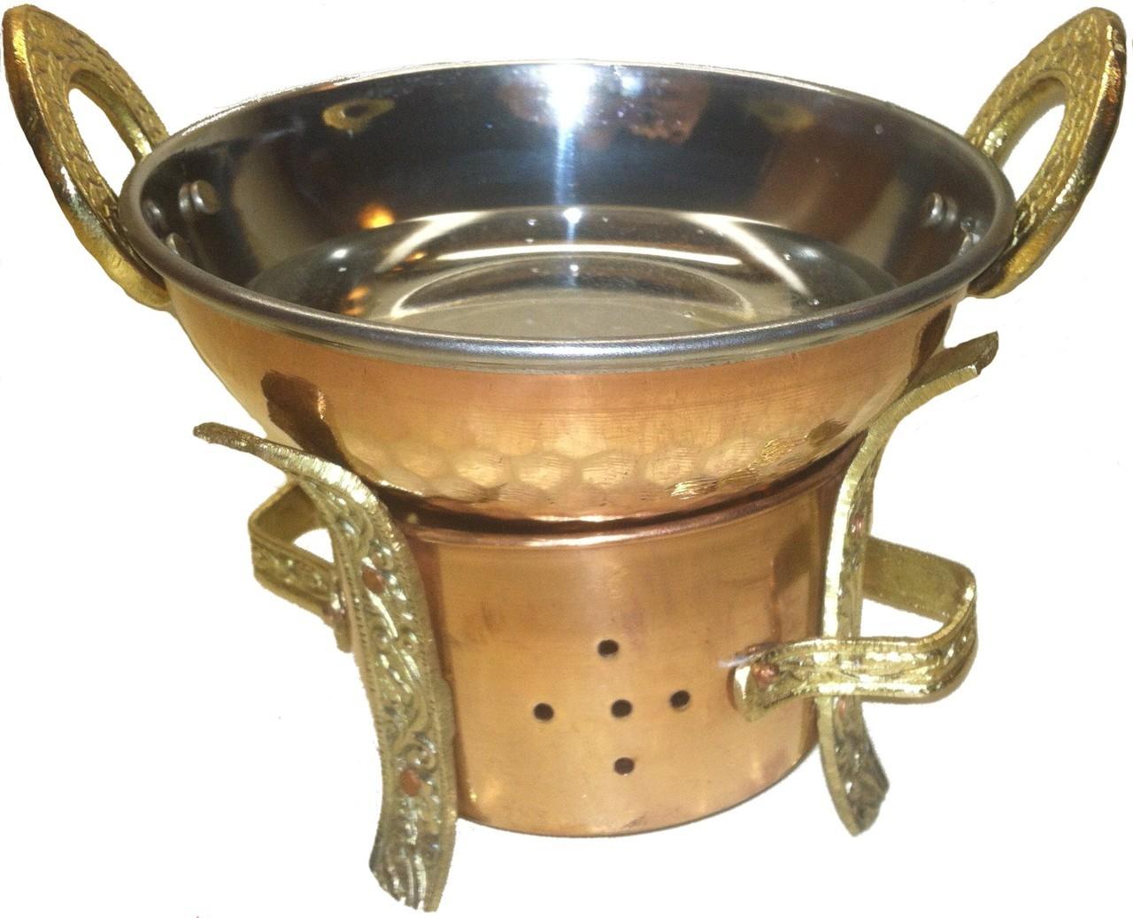 Traditional Massage Oil Warmer Shirodhara Equipment 9504